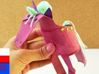 Jednorożec   Unicorn Power   robimy jenorożca z rolki po papierze kuchennym