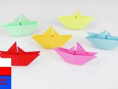 Proste stateczki origami | wprowadzenie dla początkujących | origami dla dzieci