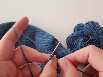 Sweterek Mini - Razemrobienie - część 2