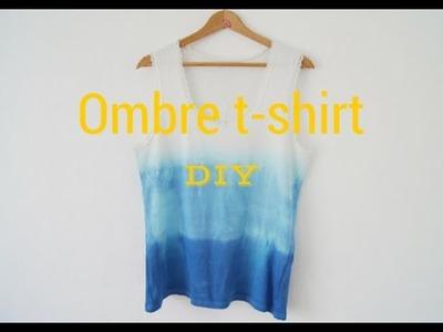 Jak zafarbować t-shirt w stylu ombre. DIY