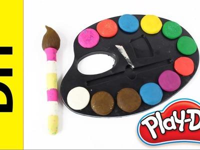 DIY - Jak wykonać Bajkowy Zestaw Malarza z Ciastoliny Play-Doh? - Kreatywne Zabawy - Zrób to sam!