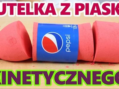DIY - Pepsi - Jak wykonać Butelkę z Piasku Kinetycznego? - Kreatywne Zabawy
