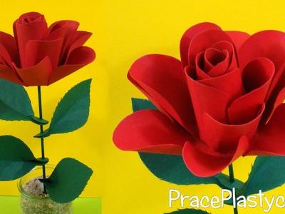 Jak zrobić różę z papieru?