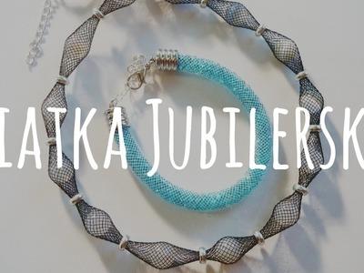 Dwa sposoby na siatkę jubilerską [#7] Kurs tworzenia biżuterii od podstaw | Qrkoko.pl