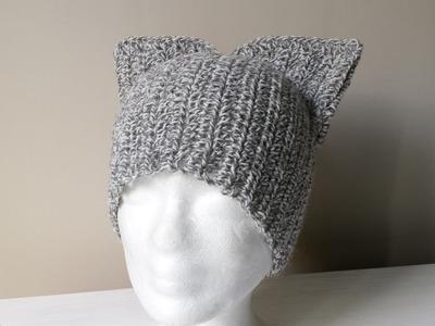 Czapka na szydełku dla nastolatki Teenager cap