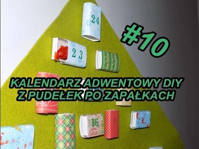 Ozdoby #10 Kalendarz adwentowy DIY. Advent callendar DIY