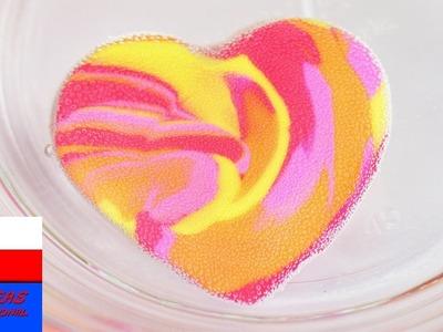 DIY Inspiration | wyzwanie #77  | DIY gumki do mazania | kolorowa gumka w kształcie serca