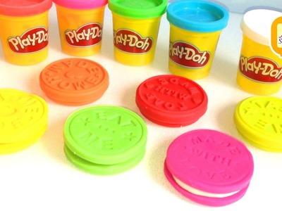 Jak zrobić ciasteczka z ciastoliny Play-doh   DIY   Zrób to sam   Zrobione w domu