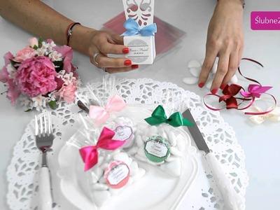 Jak stworzyć samodzielnie podziękowania dla gości na wesele? Slubnezakupy.pl podpowiadają