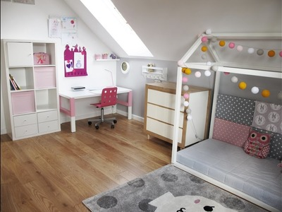 Szybkie Metamorfozy odc. 117 Pokój dla dziewczynki - aranżacje wnętrz dla dzieci, pokoje dziecięce