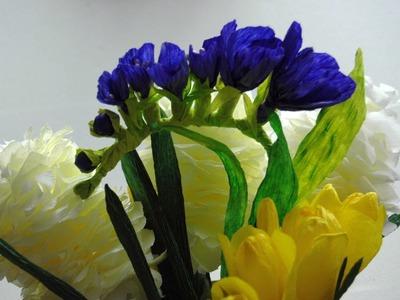 Kwiaty ze sznurka Twist Art   frezja # Twist Art flowers DIY