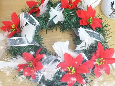 Tani ale efektowny stroik świąteczny DIY
