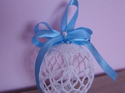 No 83# Bombka na szydełku nr 3 - Christmas ball on Crochet nr 3