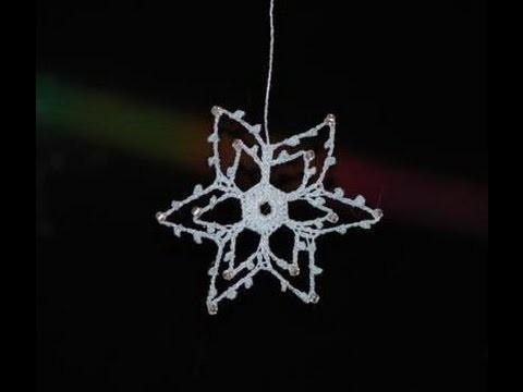 Jak zrobić gwiazdkę na szydełku - krok po kroku - dekoracje świąteczne