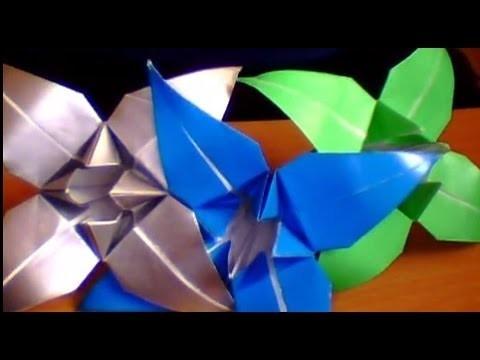 Jak zrobić kwiatka z origami