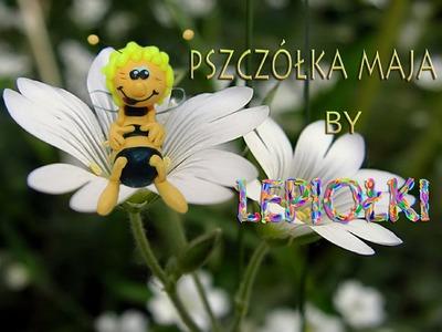 Lepiołki: Pszczółka Maja, TUTORIAL, May bee, polymer clay, made hand