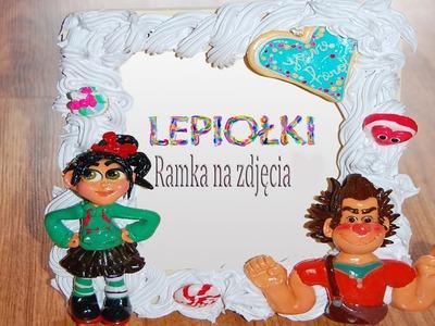 Lepiołki:Słodka ramka TUTORIAL,  sweet frame, polymer clay, made hand , hand made