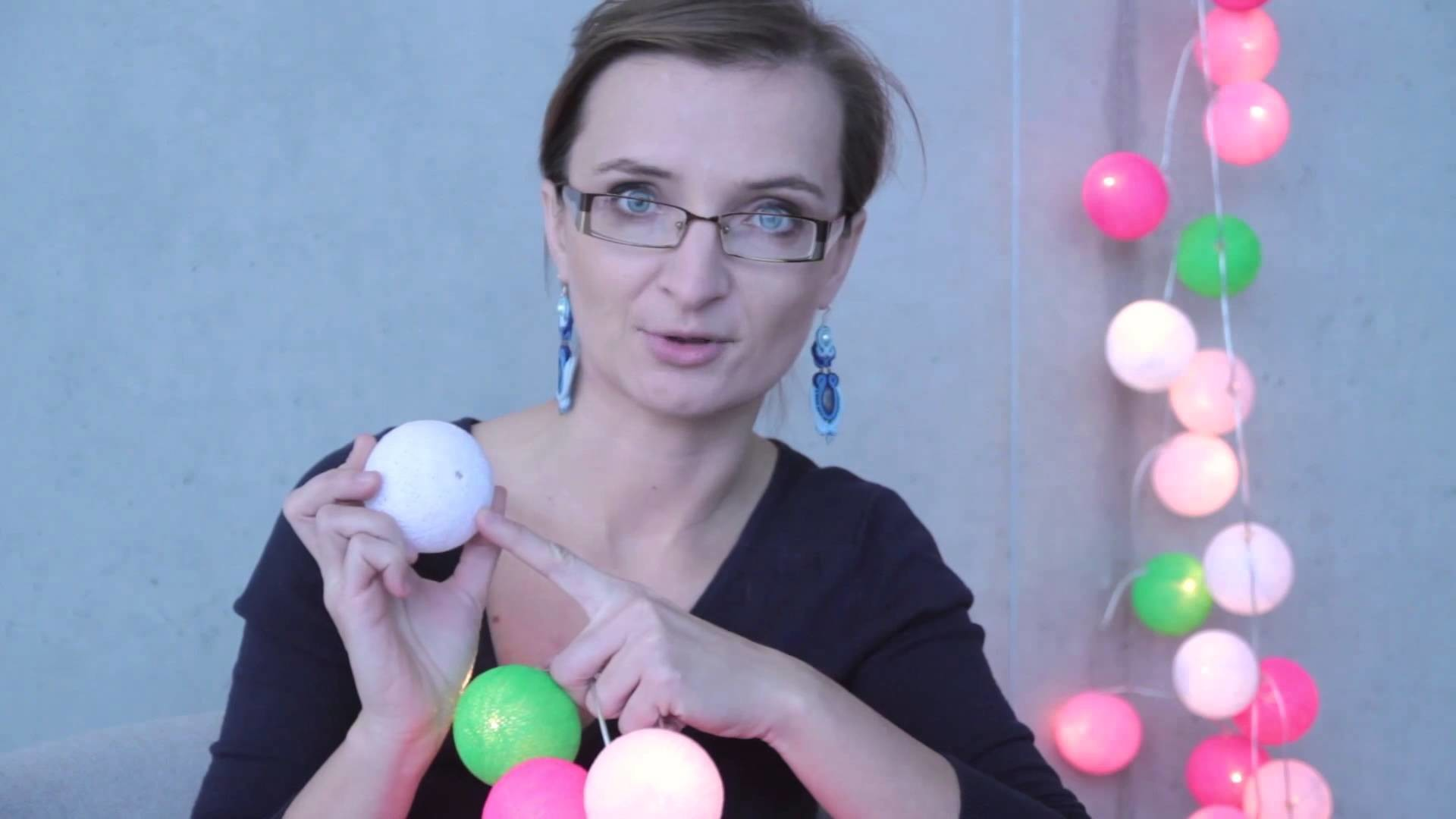 Montaż Cotton Ball Lights
