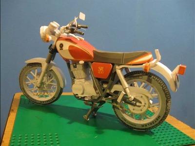 Papercraft - Yamaha SR400