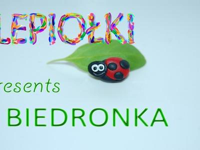 TUTORIAL: Biedronka, ladybug polymer clay, lepiołki, made hand