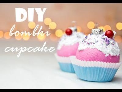 DIY: babeczkowe bomki choinkowe. cupcake christmas crafts