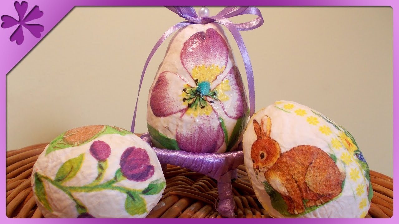 DIY Pisanki z papieru. Paper Easter Eggs (+ENG Annotations) - Na szybko #2