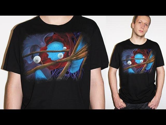 DIY: Wnętrze Komórki hand made t-shirt tutorial