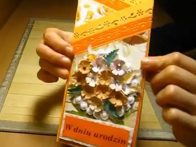 Jak zrobić kartkę z życzeniami - cardmaking, scrapbooking, papieroplastyka (www.facebook.com.Pasjani