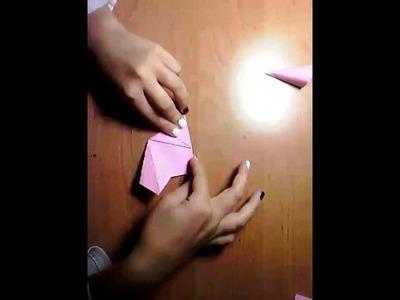 Kwiatki z papieru - Origami