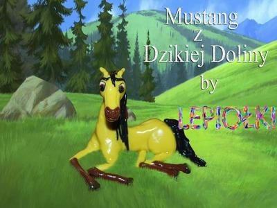 Lepiołki:Mustang z Dzikiej Doliny cz.1 TUTORIAL, polymer clay, made hand