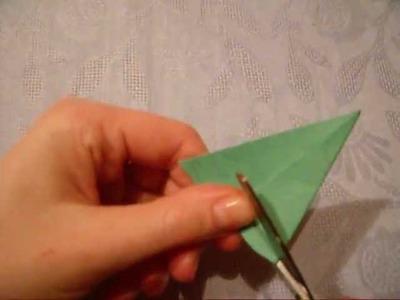 Lubię Tworzyć - Świąteczna choinka origami