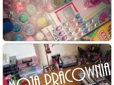 Moja pracownia - czyli craft area tour