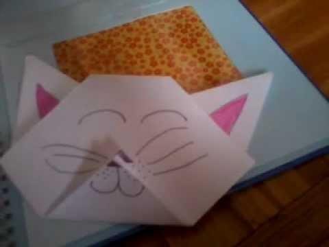 Origami 1: Głowa Kota