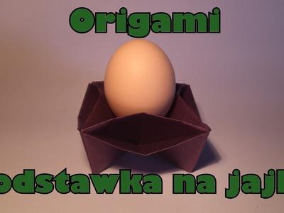 Origami - Podstawka na jajko