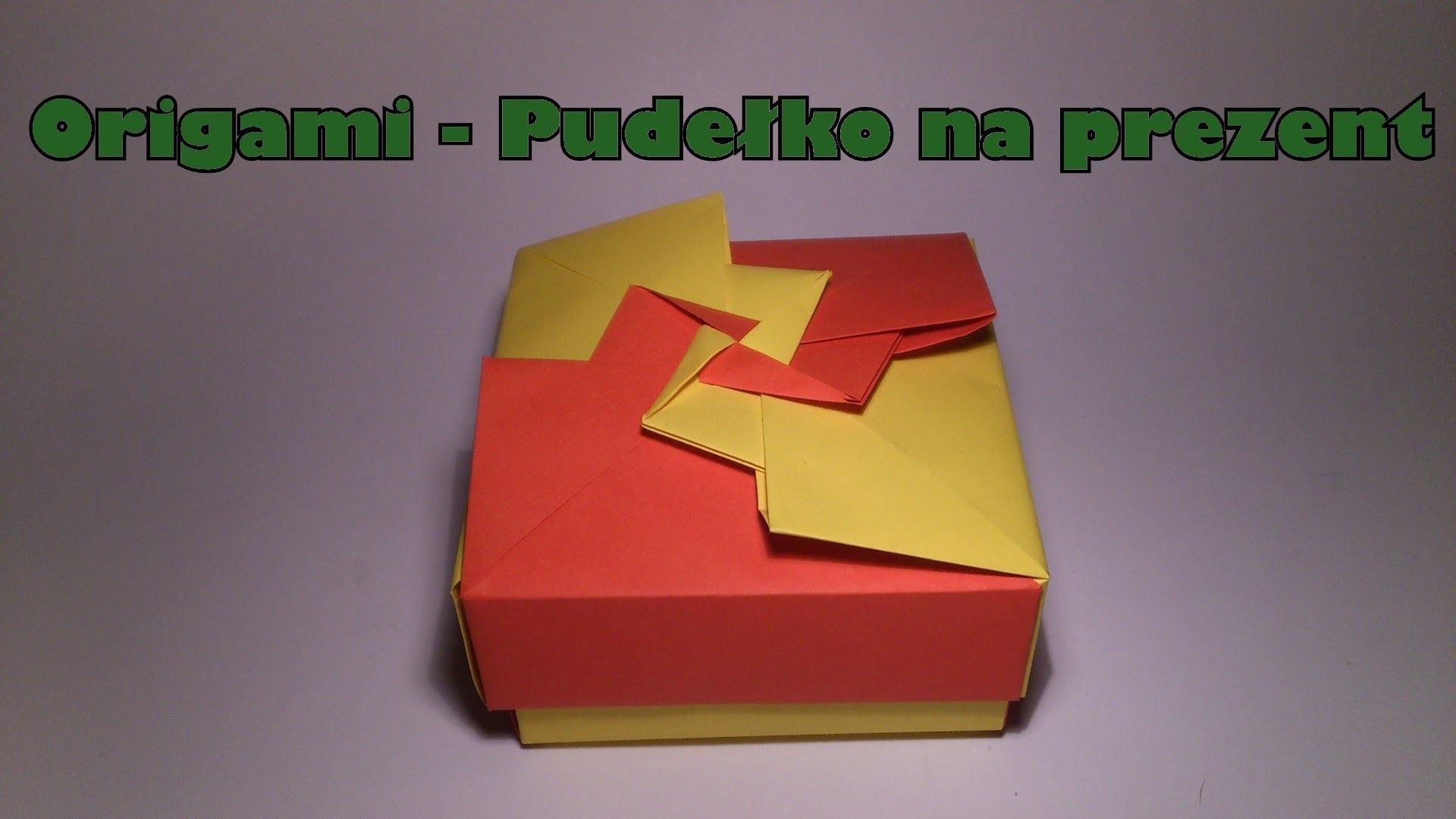 Origami - Pudełko na prezent