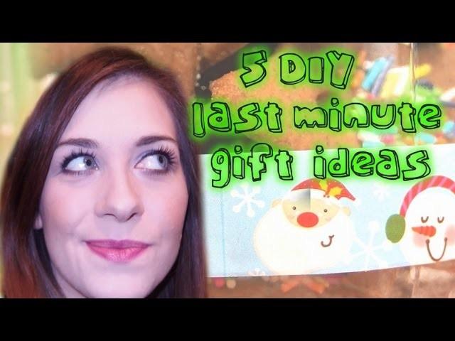 Prezenty na ostatnią chwilę DIY easy last minute gift ideas VLOGMAS ❤ TheAmmisu Christmas edition