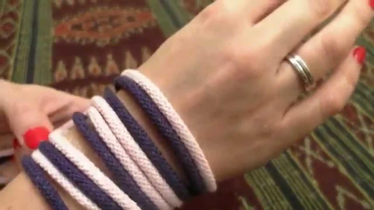 Prosty Komin zrobiony na rękach.robiony rękoma.arm knitting.armstricke.pleteme rukama. motanie