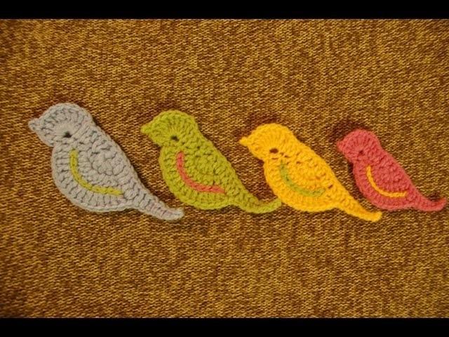 Ptaszki na szydełku