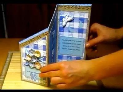 Scrapbooking, cardmaking - jak zrobić kartkę urodzinową (www.facebook.com.Pasjania)