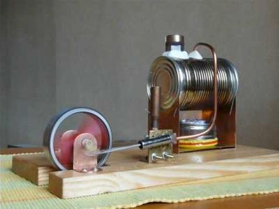 Silnik parowy made by misio 2 (steam engine)