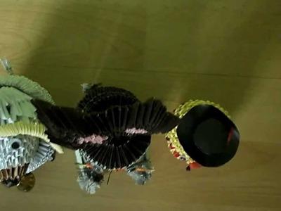 Wielkanocny zestaw origami