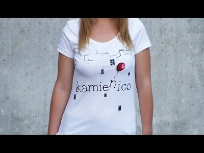 DIY: Kamień i co hand made t-shirt tutorial