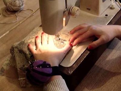Jak uszyć woreczek na maszynie do szycia, czyli kalendarz adwentowy DIY
