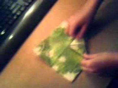 Jak zrobić kwiat z serwetki papierowej