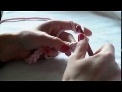 Jak zrobić oczko ścisłe na szydełku. podstawy szydełkowania. DIY. crochet. tutorial