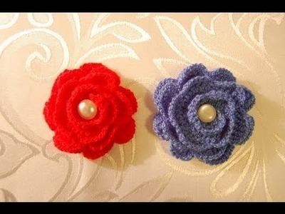 Kwiatki na szydełku - jak zrobić