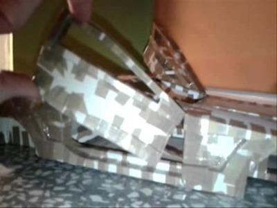Lambo Doors Papercraft Model