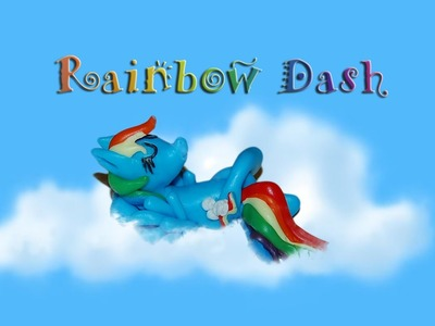 Lepiołki: Rainbow Dash TUTORiAL ;) polymer clay, made hand  My Little Pony