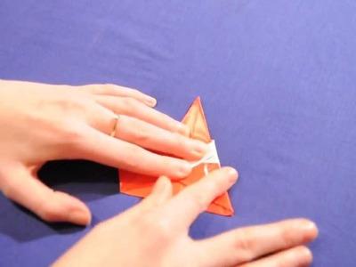 Lubię Tworzyć - Mikołaj origami