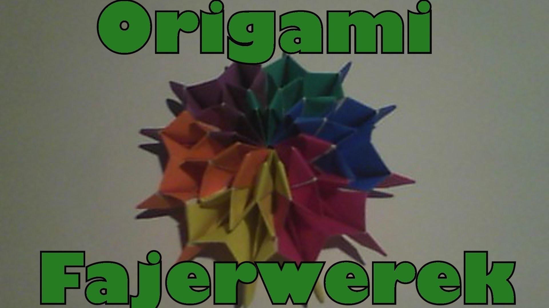 Origami - Fajerwerek